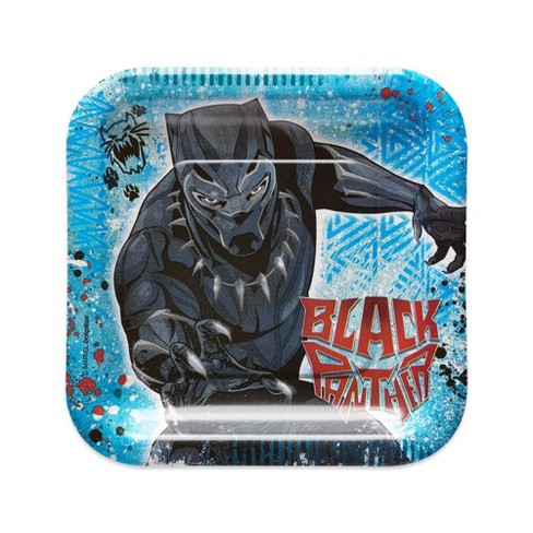 8ct Black Panther Dessert Plates - image 1 of 2