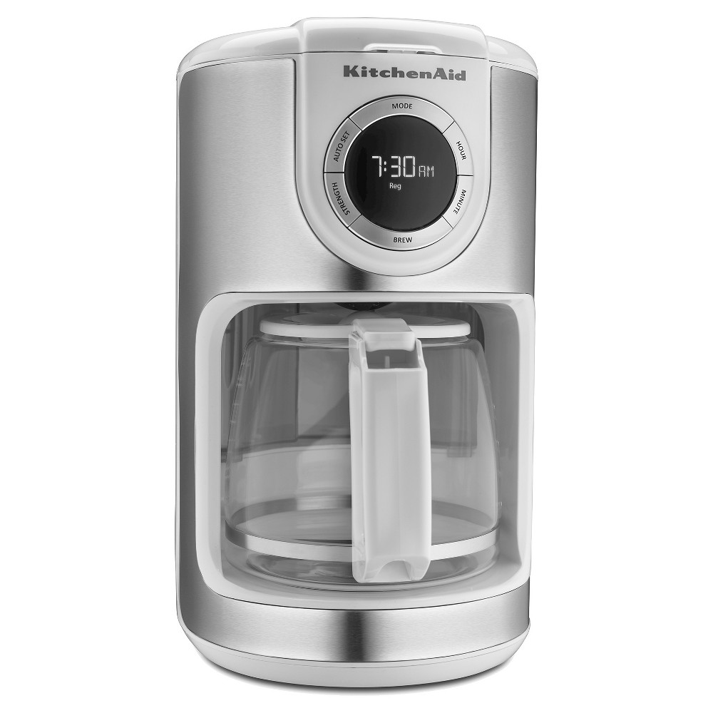 KitchenAid 12 Cup Coffee Maker – KCM1202, White 16643063