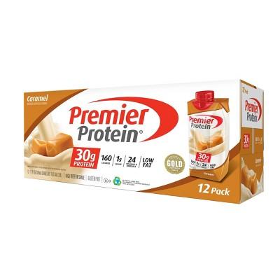 Premier Protein Shake - Caramel - 12pk/11oz
