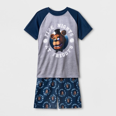 Boys' Five Nights at Freddy's Pajama Set - Blue - image 1 of 1