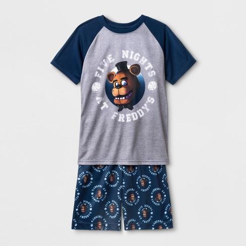 Boys' Five Nights at Freddy's Pajama Set - Blue - image 1 of 1