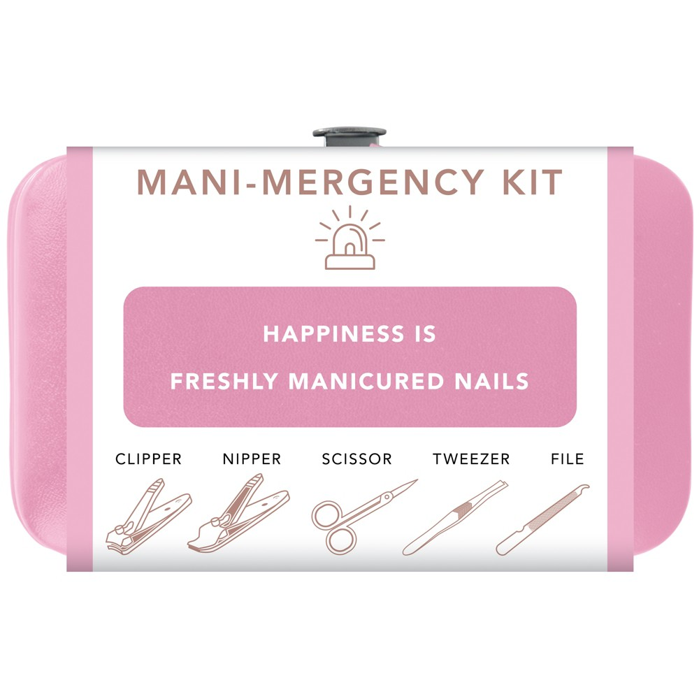 Trim Nail Mani Emergency Grooming Kit - Pink