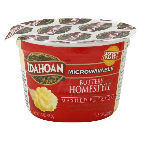 Idahoan Buttery Homestyle Mashed Potato Cup 1.5 oz - image 1 of 1