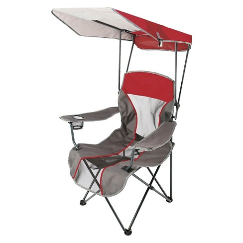 Swimways Premium Canopy Chair - Red/Gray - image 1 of 1