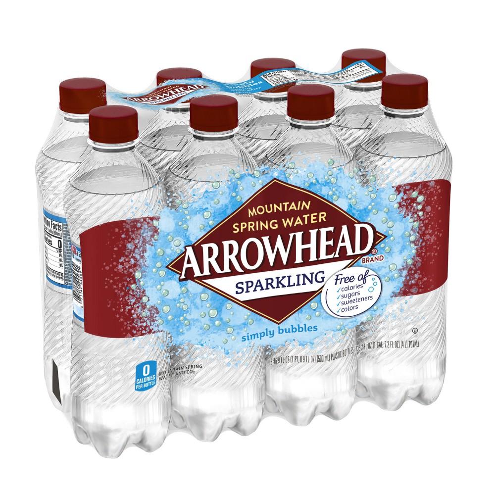 Arrowhead Simply Bubbles Sparkling Water - 8pk/16.9 fl oz Bottles