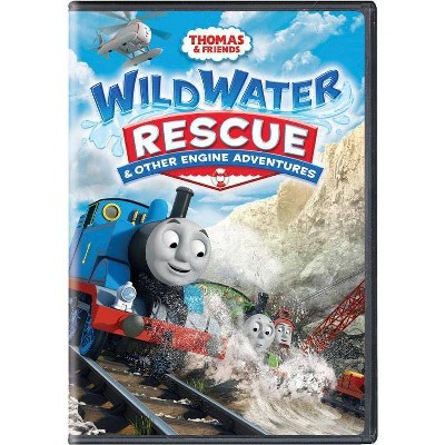 Thomas & Friends: Wild Water Rescue & Other Engine Adventures (DVD)(2017)