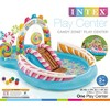 """Intex 9' x 6' x 51"""" Inflatable Candy Zone Kiddie Pool with Waterslide (3 Pack) - image 3 of 4"""