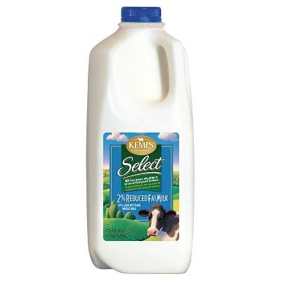 Kemps 2% Milk - 0.5gal