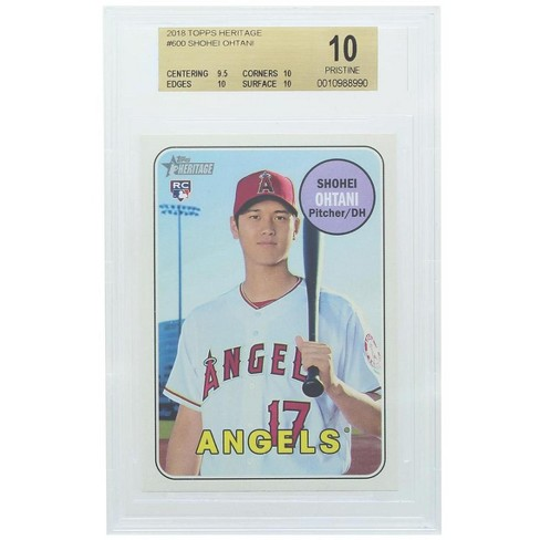 Topps LA Angels #600 Shohei Ohtani MLB 2018 Topps Heritage BGS 10 - image 1 of 2