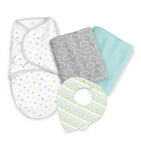 SwaddleMe Sweet Dreams Swaddle Blanket Gift Set - Sky's The Limit - image 1 of 15
