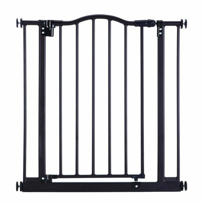Toddleroo by North States Portico Arch Metal Baby Toddler Safety Gate, Bronze