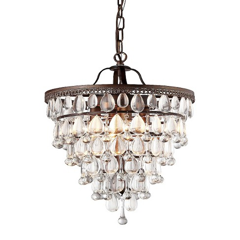 Warehouse Of Tiffany Chandelier Ceiling Lights -Bronze - image 1 of 1