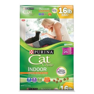 Purina Cat Chow Indoor Dry Cat Food - 16lbs