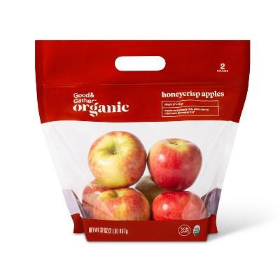 Organic Honeycrisp Apples - 2lb Bag - Good & Gather™