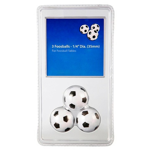 Hathaway 3 Pack Soccer Ball Style Foosballs - image 1 of 2