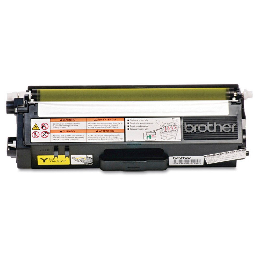 Brother Toner - Yellow (TN310Y) Creates documents and presentations with ease. Uses toner efficiently. Simple design for easy installation. Device Types: Multifunction Laser Printer; Color(s): Yellow; Page-Yield: 1500; Supply Type: Toner.