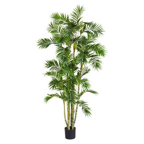 Nearly Natural 6' Areca Palm Silk Tree - image 1 of 1