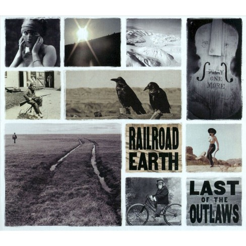 RAILROAD EARTH - Last of the Outlaws (CD) - image 1 of 1