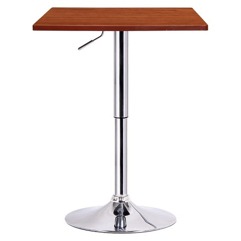 Luta Adjustable Pub Table Wood/Walnut - Boraam - image 1 of 1