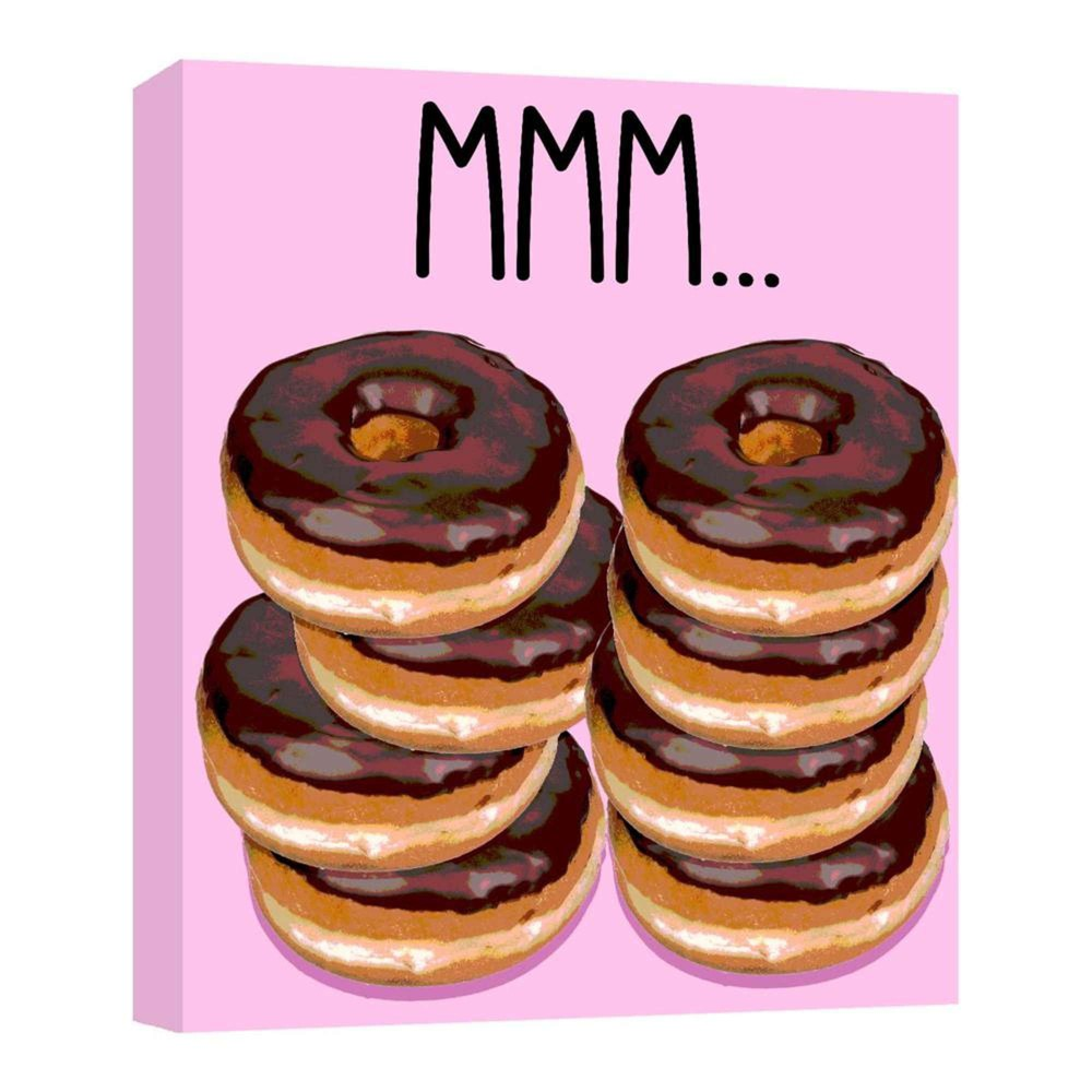 11 34 X 14 34 Donuts Decorative Wall Art Ptm Images