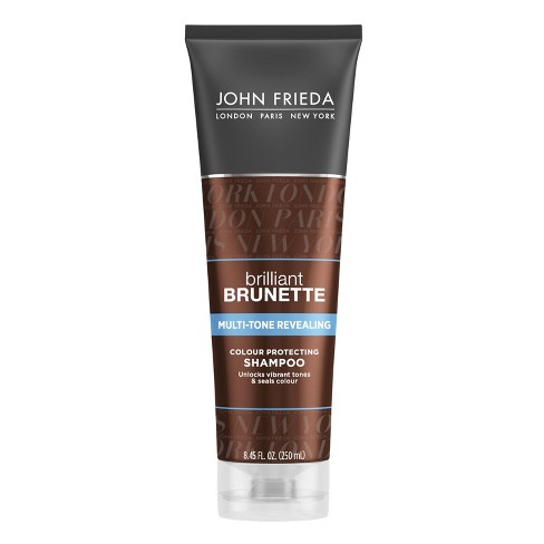 John Frieda Brilliant Brunette Multi-Tone Color Protecting Shampoo - 8.45 fl oz - image 1 of 4