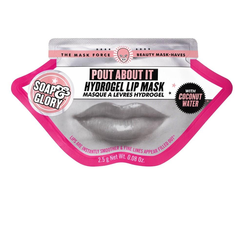 Soap 38 Glory Pout About It Hydrogel Lip Mask 0 08oz