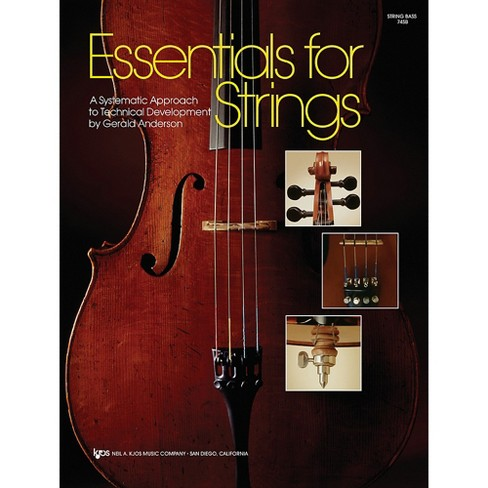 KJOS Essentials For Strings String Bass - image 1 of 1