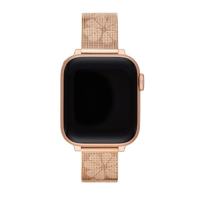 Kate Spade New York Apple Watch 38/40mm Band - Rose Gold-Tone Stainless Steel Mesh