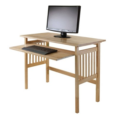 Folding Computer Desk Natural - Winsome