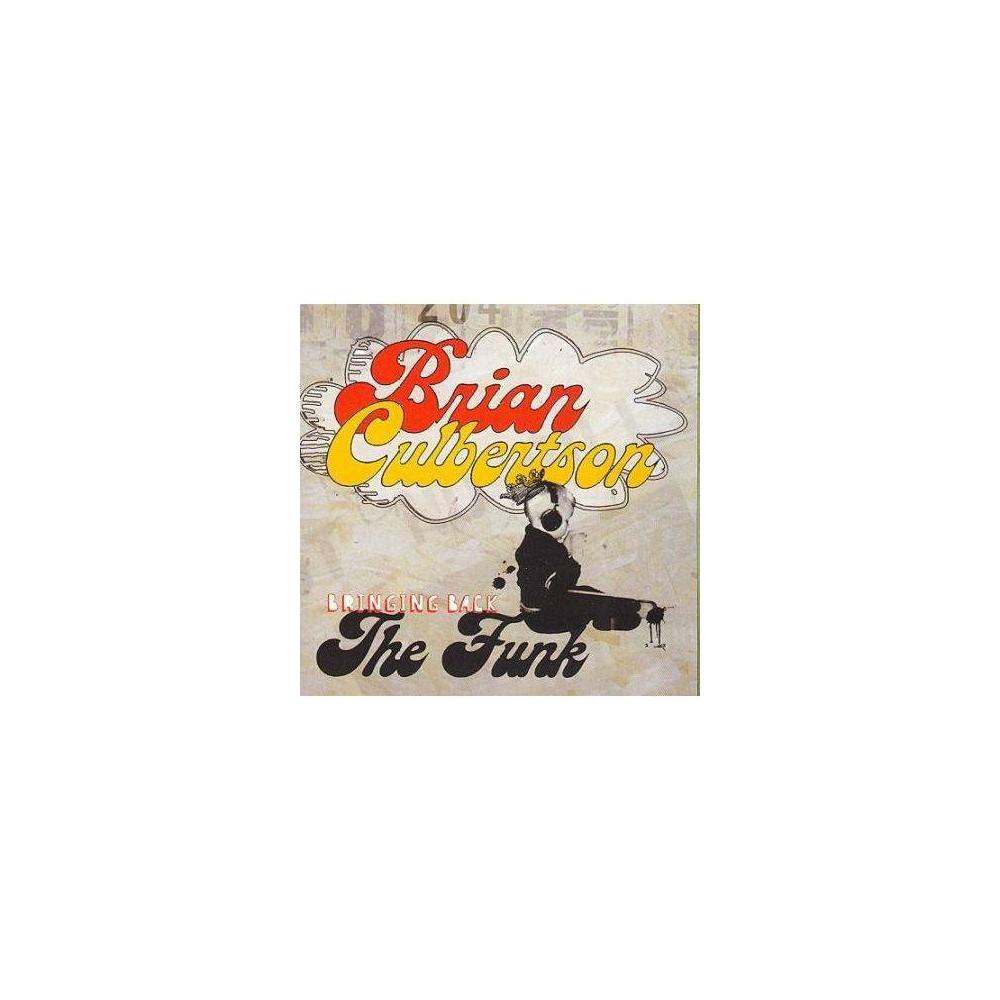 Brian Culbertson Bringing Back The Funk Cd