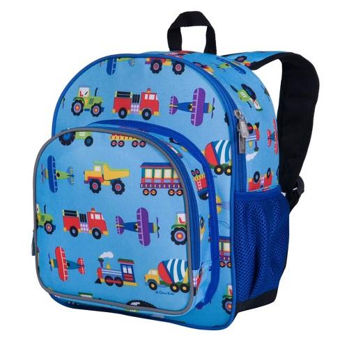 Wildkin Trains, Planes & Trucks 12 Inch Backpack - image 1 of 3