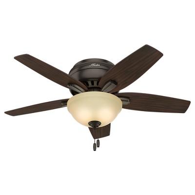 42  Newsome Premier Bronze Ceiling Fan with Light - Hunter Fan