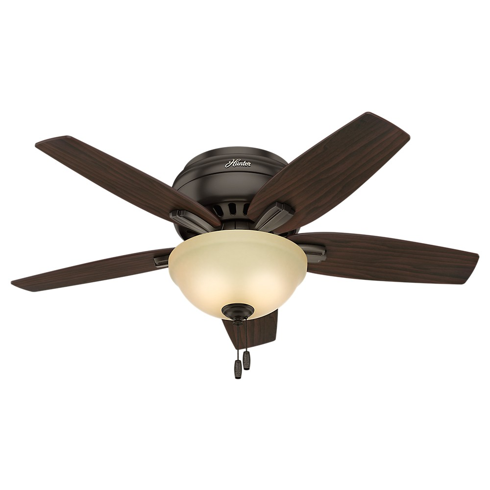 42 Newsome Premier Bronze Ceiling Fan with Light - Hunter Fan