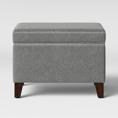Glenmont Storage Ottoman Gray - Threshold™