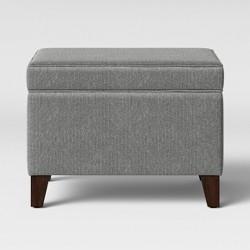 Glenmont Storage Ottoman Gray - Threshold™