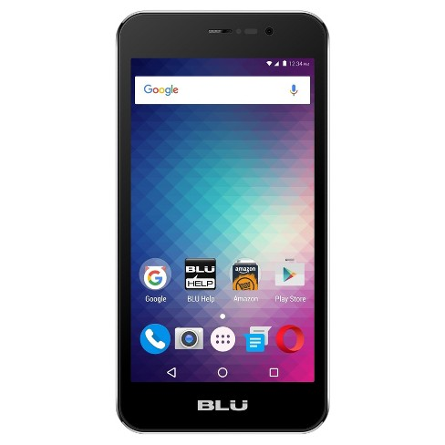 BLU Grand Energy M GSM Quad-Core Android Phone (Unlocked) - Silver - image 1 of 2