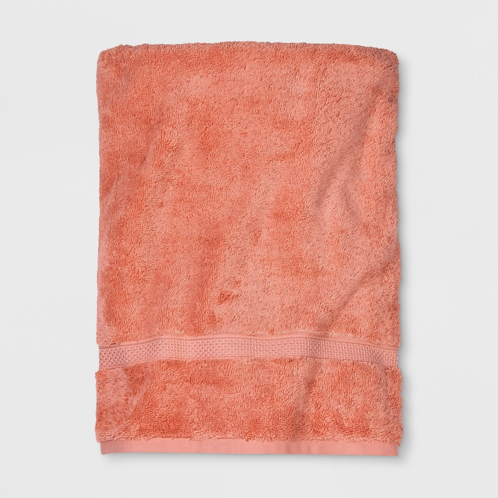 Soft Solid Bath Sheet Coral (Pink) - Opalhouse