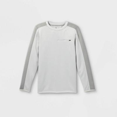 Boys' Pieced Crewneck Sweatshirt - All in Motion™