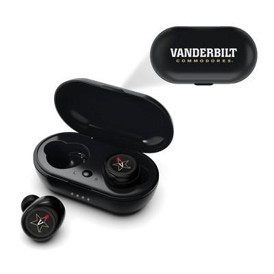 NCAA Vanderbilt Commodores True Wireless Bluetooth Earbuds