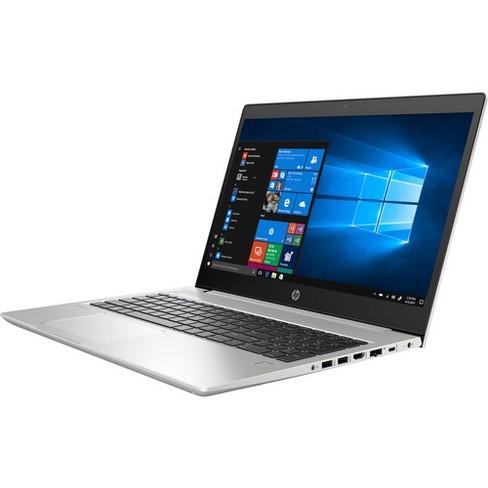 "HP ProBook 450 G6 15.6"" Notebook - 1366 x 768 - Core i5 i5-8265U - 4 GB RAM - 128 GB SSD - Natural Silver - Windows 10 Pro 64-bit - image 1 of 4"