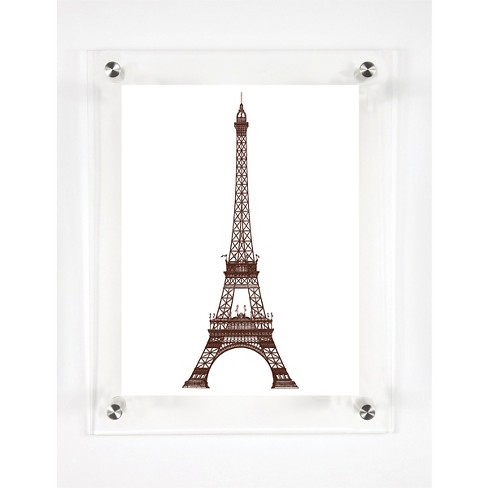 Mitchell Black - La Tour Eiffel Decorative Framed Wall Canvas - image 1 of 1