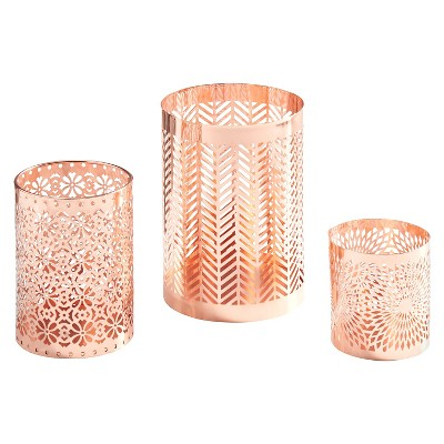 3pc Filigree Hurricane Set Rose Gold - Danya B.®