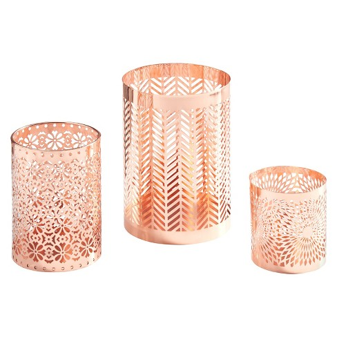 3pc Filigree Hurricane Set Rose Gold - Danya B.® - image 1 of 1