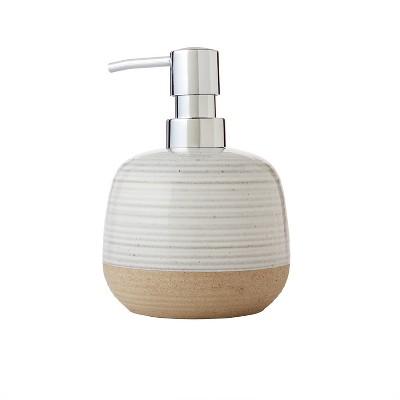 Chadwick Striped Soap Dispenser Natural - SKL Home