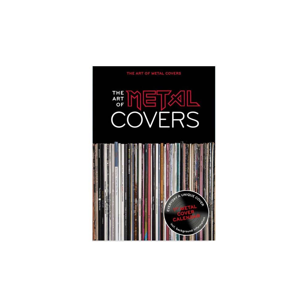 Art of Metal-covers Calendar : The World's First Metal Cover Calendar - (Paperback)