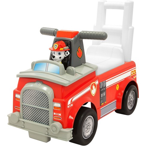 paw patrol marshall fire truck target