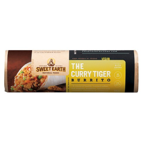 Sweet Earth Curry Tiger Frozen Burrito - 7oz - image 1 of 1