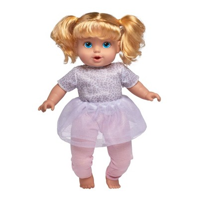 "Perfectly Cute 14"" My Sweet Toddler Doll - Blonde with Blue Eyes"