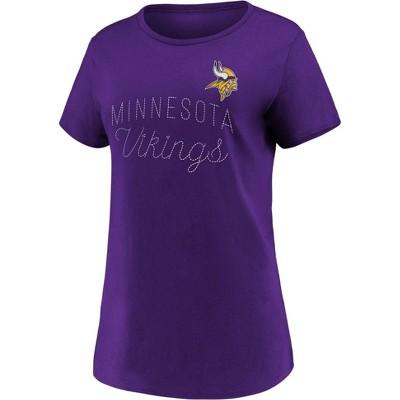 NFL Minnesota Vikings Women's Short Sleeve T-Shirt