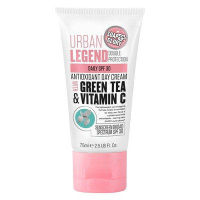 Soap & Glory Urban Legend Double Protection Antioxidant Day Cream Daily SPF 30 - 2.5 fl oz